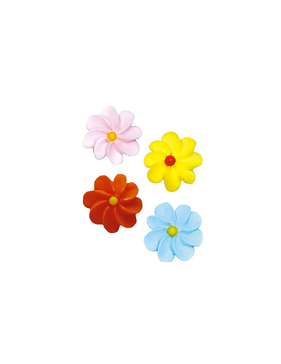 Sugar toppers shaped like daisies edible sugar flowers for cake tap to zoom izmirmasajfo