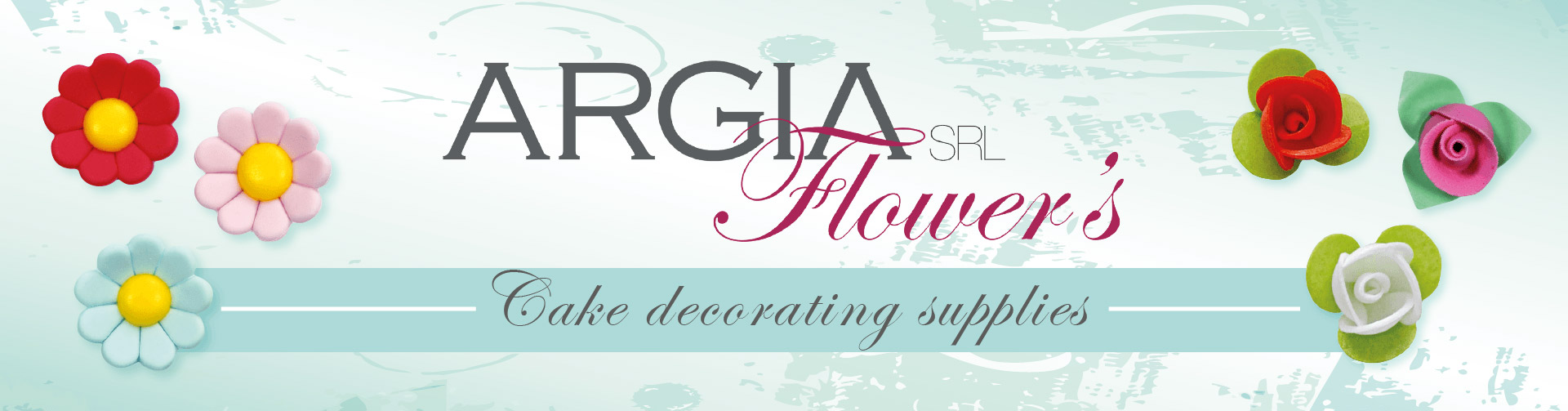 Argia Flowers - Decorations For Pastry